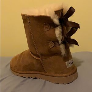 Brown Bow Ugg Boots